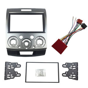 For Ford Ranger PK/PJ For Mazda BT-50 Double-Din Fascia Facia Dash Kit 2007-2011