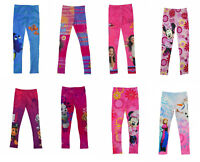 Official Children Character Girls Full Length Soft Leggings Pants Kids Trousers