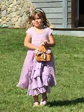 EEUC Luna Luna Copenhagen Size 8 Lavender Clara Dress Flower Girl Dress