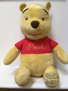 "Fisher Price Winnie the Pooh Stuffed Plush Animal 24"" Celebrating 80 Years 2005"