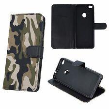 ^ Book Case Moro Camouflage Hülle Armee Militär Samsung Galaxy J3 2017 GRÜN