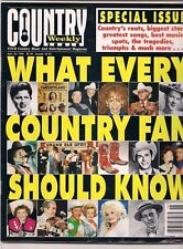 Country Weekly Magazine 1996 Special Issue Patsy Cline Reba McEntire