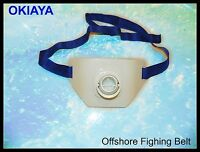 "Okiaya Econo Big Game Fighting Belt (11""x7"") 1 Size fits all(26in to 60in Waist)"