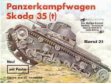 Waffen-Arsenal 21 Panzerkampfwagen Skoda 35(t) Panzer-Modellbau/Fotos/Bilder/WW2