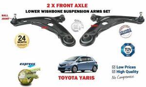 Para Toyota Yaris 2006-2016 Delantero Derecho Horquilla Brazo de suspensión inferior