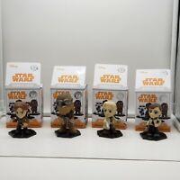 Funko STAR WARS Mystery Minis plüschies 6 personaggi del cieco bag con clip NUOVO