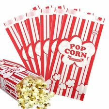 COCESA 100pcs 1oz Paper Popcorn Bags Birthday Party Favors Candy Box