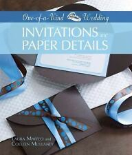 Invitations and Paper Details One-Of-A-Kind Wedding