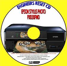 EPSON PX830FWD STAMPANTE SATURATED rifiuti INCHIOSTRO PAD Fix ingegneri Reset pc cd NUOVO