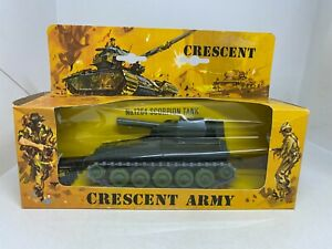 Crescent Toys - Army 1264 Scorpion Tank Boxed