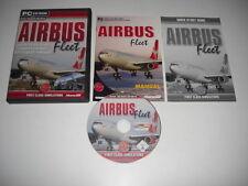 AIRBUS FLEET Pc Cd Rom Add-On Flight Simulator Sim X 2002 2004 FSX FS2002 FS2004