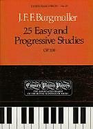 BURGMULLER STUDIES Op100 (25 Easy & Prog) EPP19*
