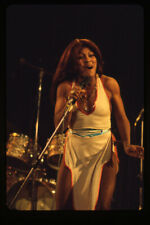 Tina Turner Rare Vintage Concert Photo 1970's Sexy Outfit original Transparency