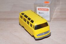 Wiking 260/2 a MB L319 Minibus in Yellow Mint Condition Boxed Ho 1/87 (B10)