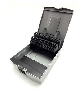 Bohrerkassette LEER für 41 Bohrer 6 - 10 mm Kunststoffkassette Rose Bohrerbox