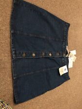 Primark A-Line Denim Skirt Size 18