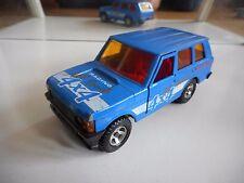Majorette 4X4 Range Rover in Blue on 1:36