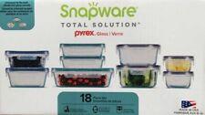Snapware 1103106 Pyrex Glass Food Storage Set - 18 Pieces