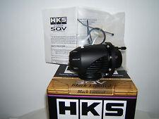 NEW HKS Black UNIVERSAL SSQV BLOW OFF VALVE BOV Black LIMITED Version II