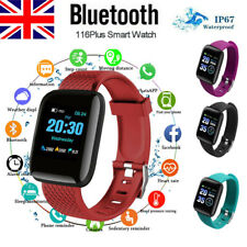 Smart Watch Band Sport Activity Fitness Tracker For Kids Fit# bit Android iOS UK