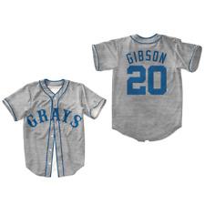Grays Josh Gibson Baseball Jersey Stitch All  true size Colors FREE SHIPPING