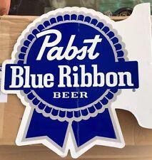 New! Pabst Blue Ribbon Pub Sign Nice! 22x22