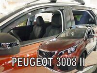 PEUGEOT 3008  II  2017 -   5.doors  Wind deflectors  4.pc   HEKO  26157