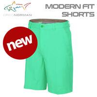 Greg Norman Modern Fit Pro Golf Shorts Jade Green - NEW! 2020