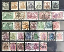 Germany 1916-1921 Germania issues Used