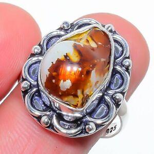Biwa Pearl Gemstone 925 Sterling Silver Jewelry Ring 8.5 (9515) S2782 LR-9515