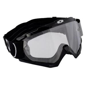 Oxford OX200 Motorcycle Motorbike Assault Pro Off-Road MX Goggle-Glossy Black