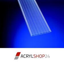 Hohlkammerplatten Hohlkammerpaneele Lichtbahnelemente PVC Klar Nut- und Feder