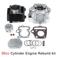 90cc 47mm Cylinder Engine Rebuild Kit For Roketa Kazuma Taotao ATV DIR Bike #