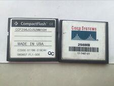 1PCS Original Cisco 256MB Compact Flash CF card,Memor card