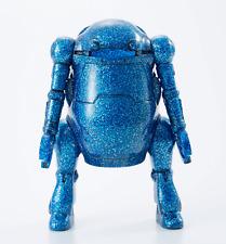 Mechatro 35 WeGo Blue Glitter 10cm Robot soft vinyl Figure