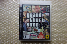 Grand Theft Auto IV 4 + Map PS3 Region Free Sony Playstation3 Japan
