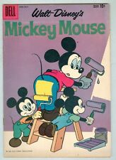 Mickey Mouse #72 June 1960 FN