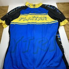 Sugoi Playtri.com Cycling Jersey Size Large L