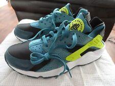 Nike Para Hombre Air Huarache espacio azul y voltios Trainer 318429 043 Size UK 9-UE 44