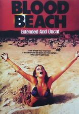 BLOOD BEACH (DVD 1981 John Saxon Uncut classic horror)