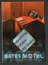 BATES MOTEL Breygent 2015 PARALLEL PROP CARD #BP9 TV GUIDE #2 of 5 SEASON 1