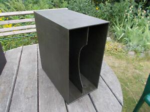 """1 x LP BOX Vinyl 12"""" schwarz zur Aufbewahrung"""
