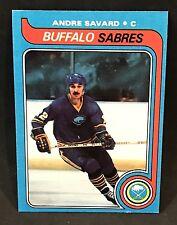 1979-80 TOPPS HOCKEY ANDRE SAVARD CARD #25 BUFFALO SABRES NMT-NMT/MT