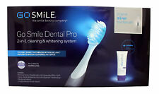 Go Smile Dental Pro 2 in 1 Cleaning & Whitening System Oringial Silver