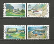 tableaux Tristan Da Cunha 1978 Y&T N°236/239 4 timbres non oblitérés /T4513