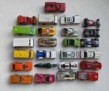 Lot of 25 Vintage Hot Wheels Cars