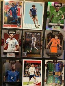 Soccer Card Lot Ronaldo, Diego Maradona, Neymar Jr , World Cup Prizm, Auto,