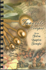 *TULSA OK 2007 BAPTIST TEMPLE & MISSIONARIES COOK BOOK *CHURCH LADIES *OKLAHOMA