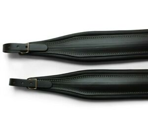 Accordion straps + back strap Deluxe Genuine Italian Leather 307/a MADE IN ITALY