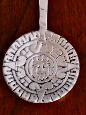 - MEXICAN STERLING SILVER SOUVENIR SPOON: FACE TO HANDLE AND BOWL